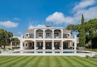 A Private Villa with Golf Views