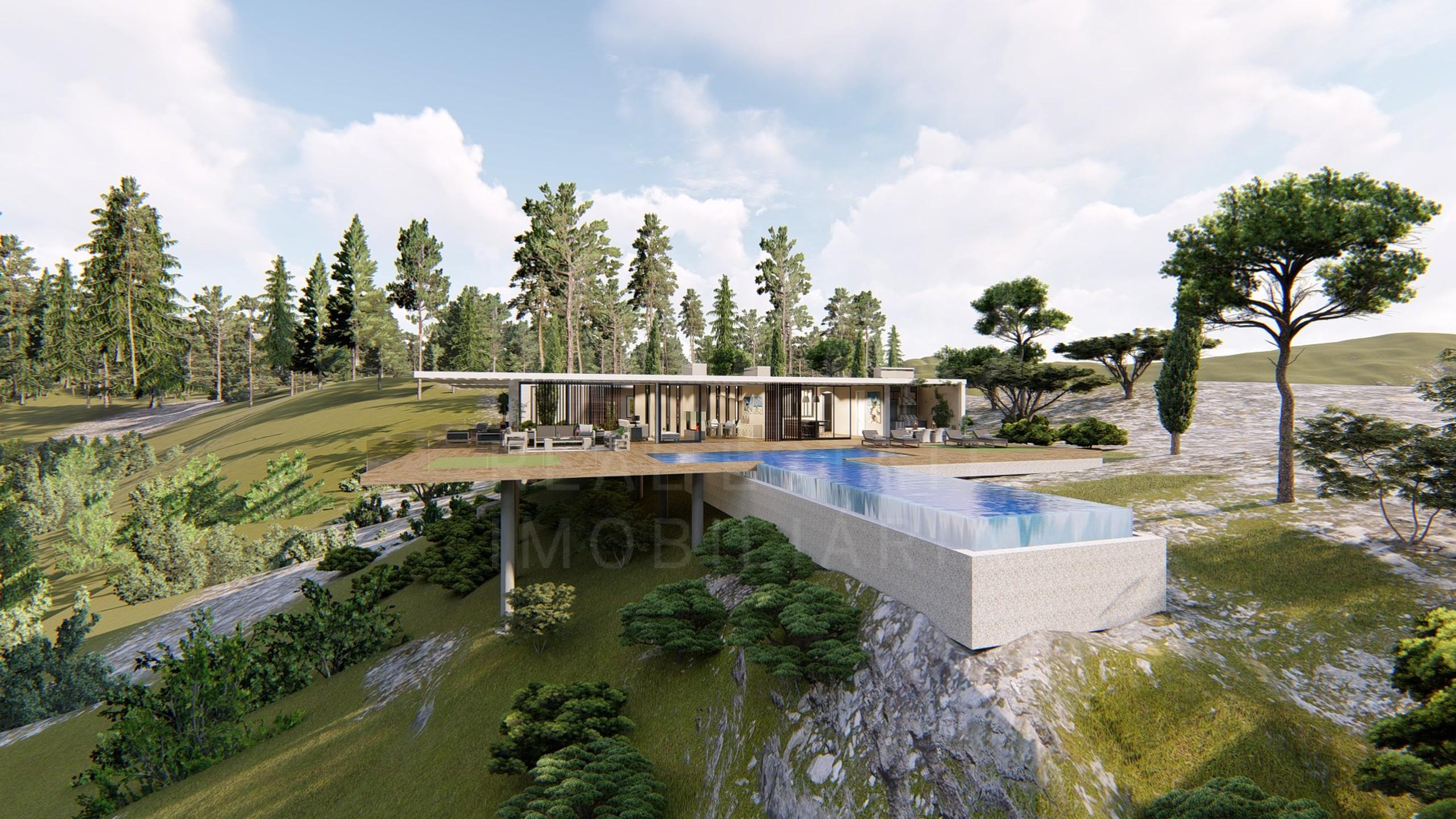 Moradia ultramoderna virada a sul na zona rural de Loulé