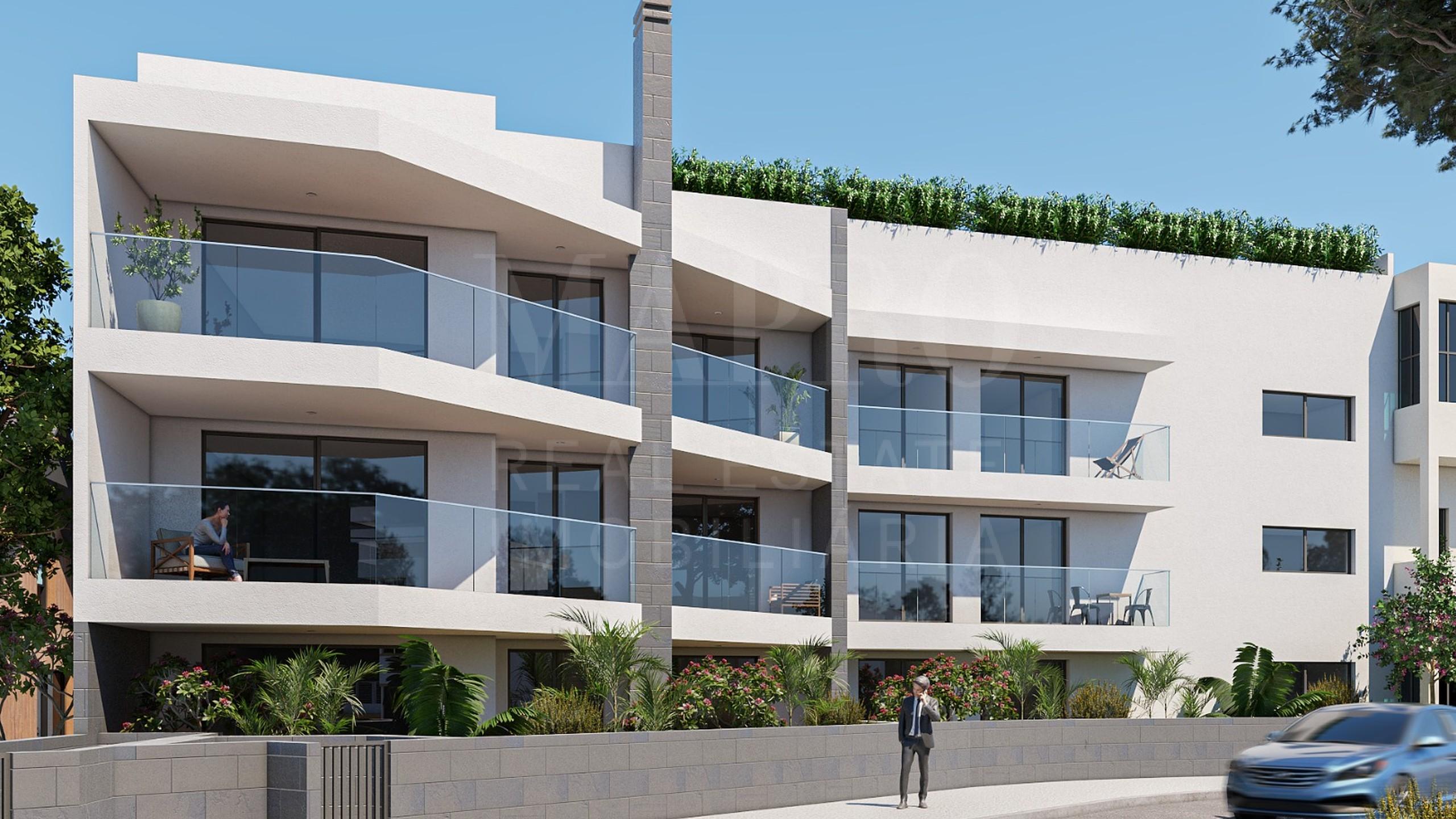 Apartamentos com vista mar em Albufeira