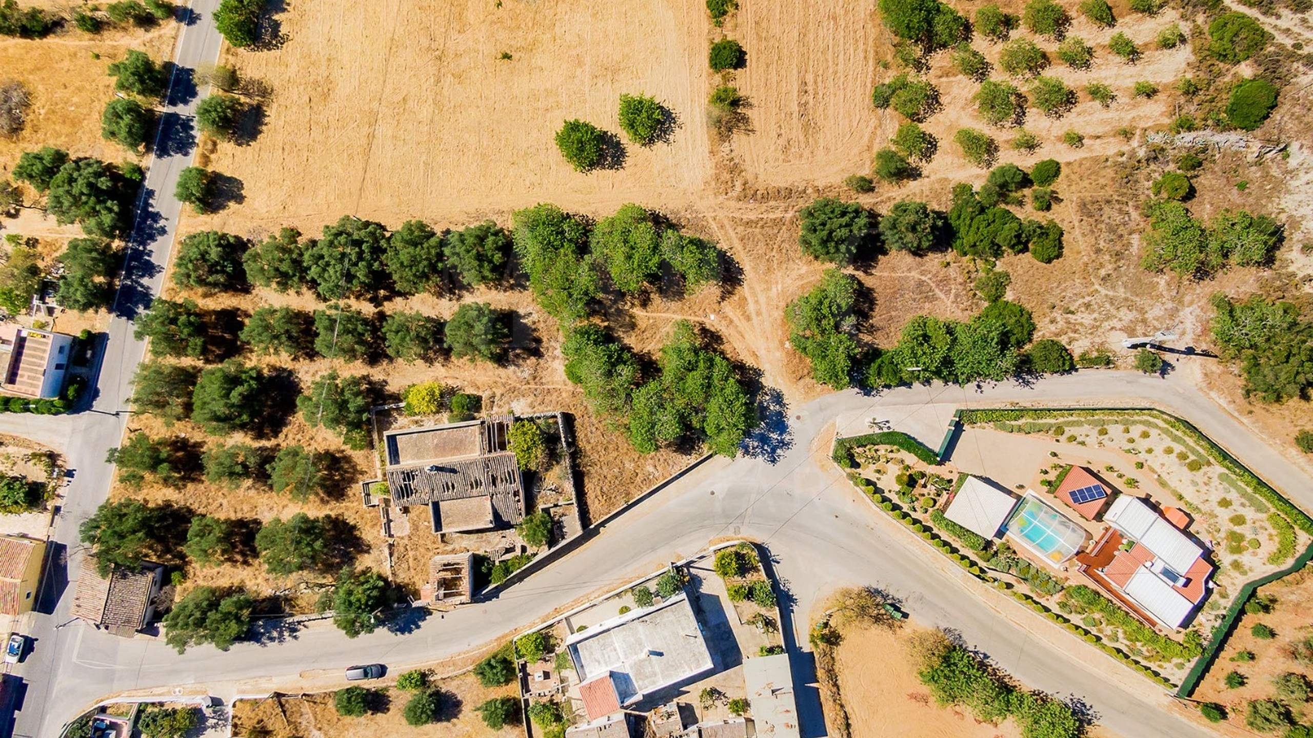 Building plot in the countryside in Algarve