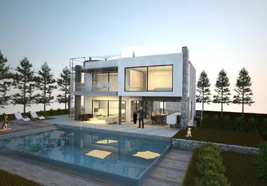 New Modern Golf Front Villa
