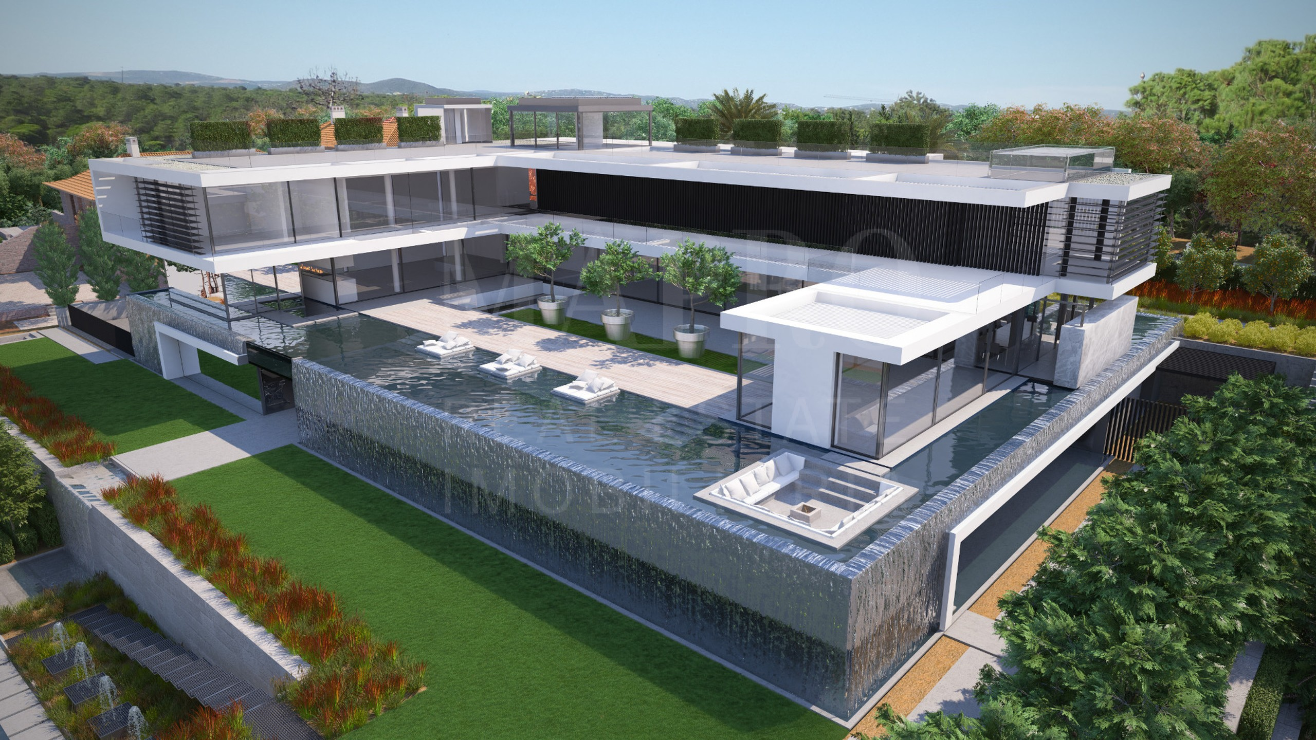 spectacular contemporary villa, designed by Vasco Vieira