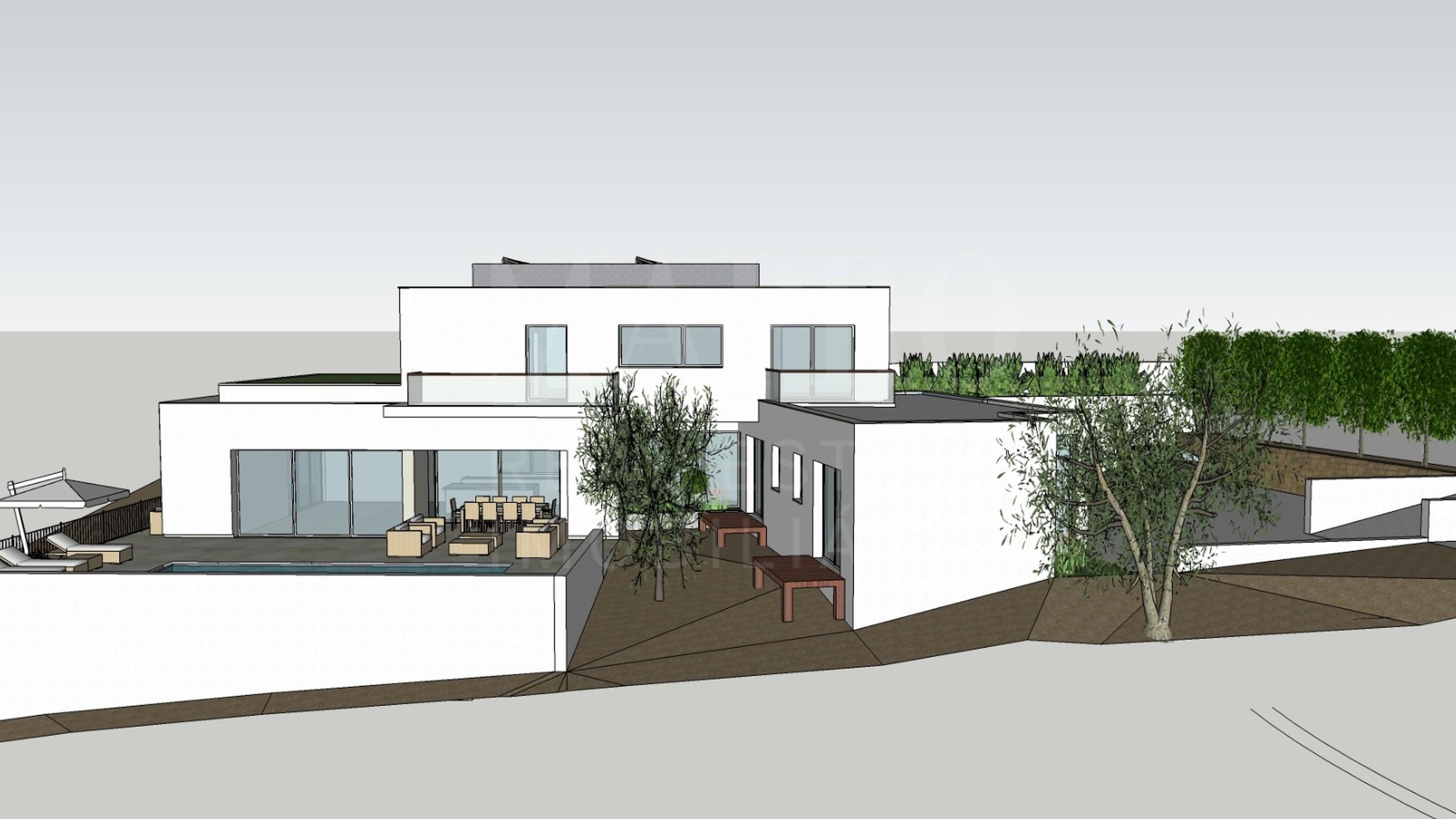 Terreno com projeto aprovado para construção