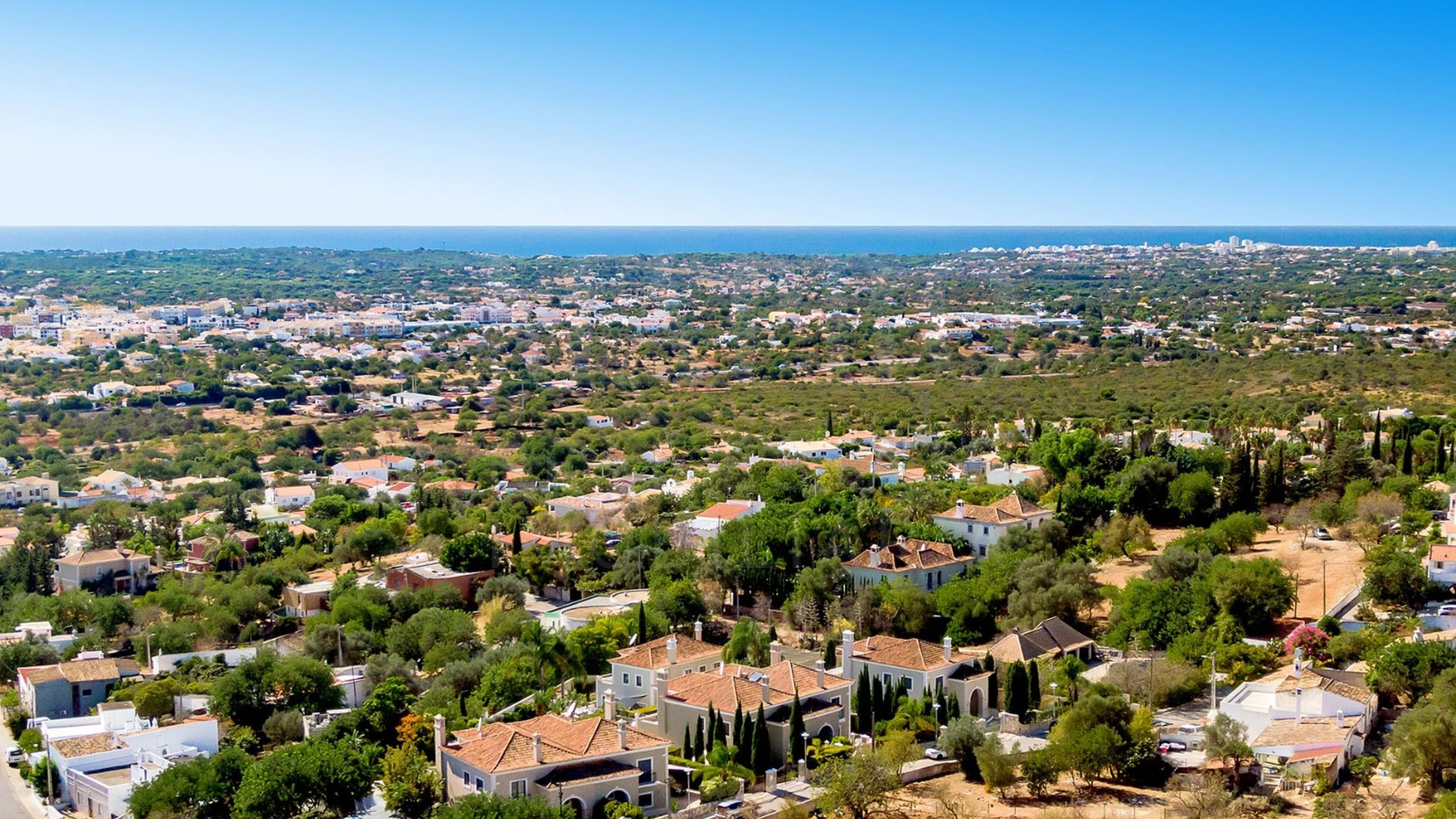 Vista aérea de Vale Formoso