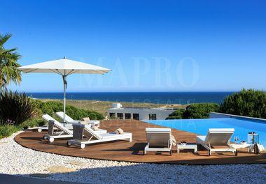A Magnificent Beachfront Villa