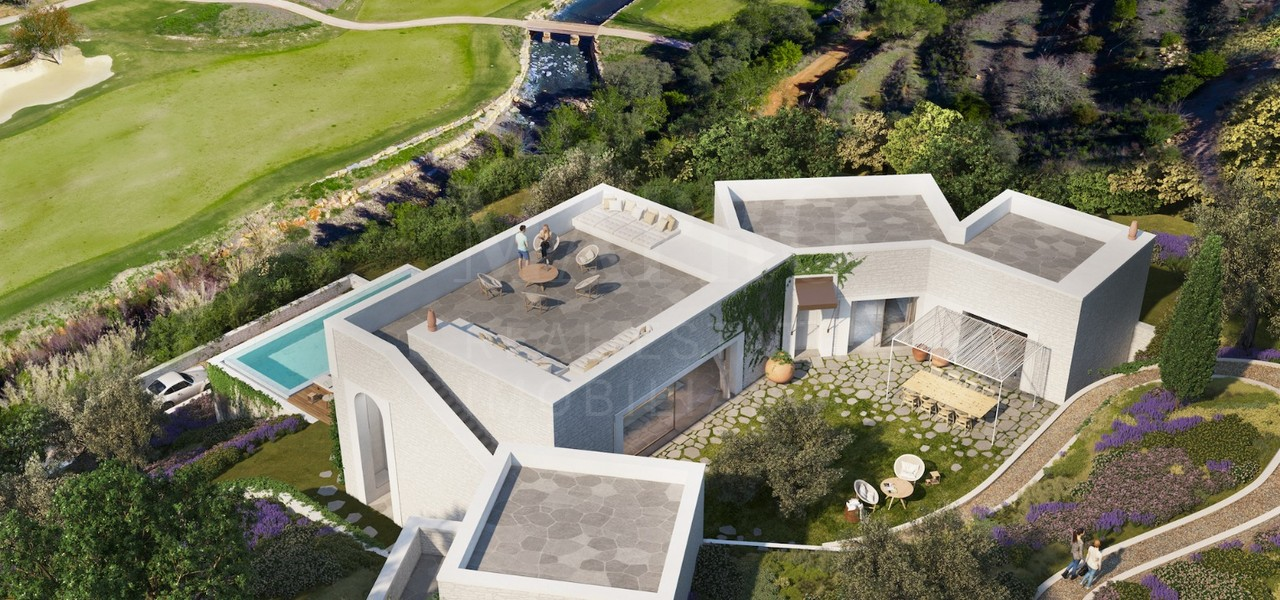 Modern Villa in Countryside Resort