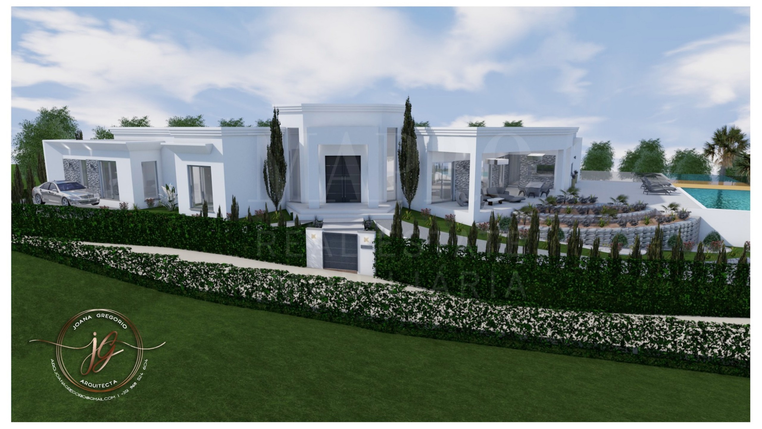Plot for sale in Algarve with construction project