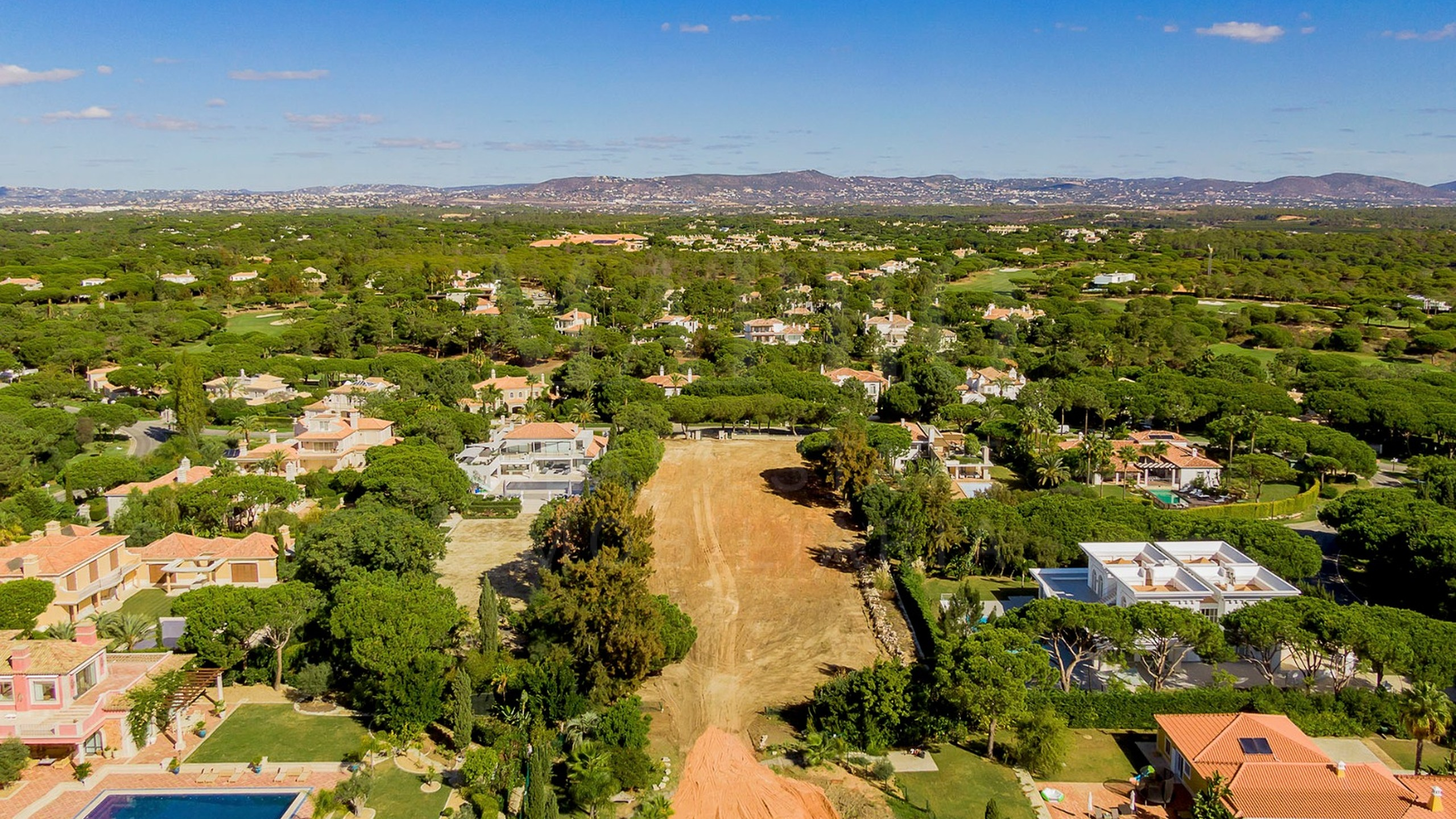Land for sale in Quinta do Lago